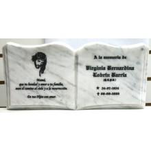 Libro marmol 30x15