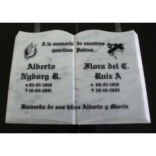 LIBRO MARMOL 30X20 CMS