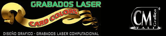 CardColors - Grabados Láser